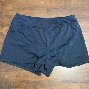 EUC Lands End swim shorts size 12